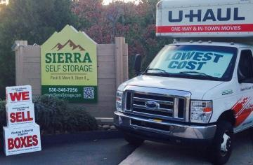 Pack It. Move It. Store It. with Sierra Self Storage