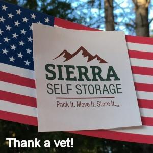 Sierra Self Storage Logo Veterans Day 300