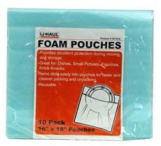Foam Pouches, Large